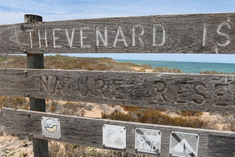 genetic-biocontrol-invasive-rodents-gbird-Thevenard-Island-sign